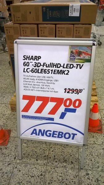 Lokal Real Oldenburg - Sharp LC60 60le651emk2