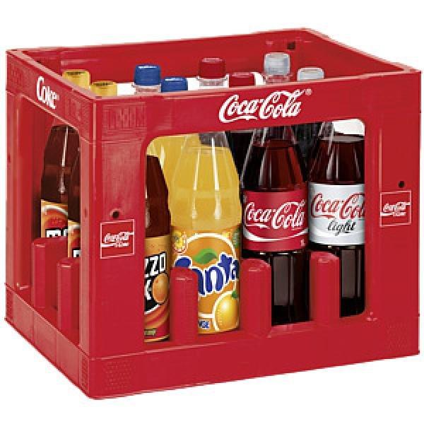 (Rewe/Rewe Center KW19) Coca-Cola 14 Flaschen für 7,99€