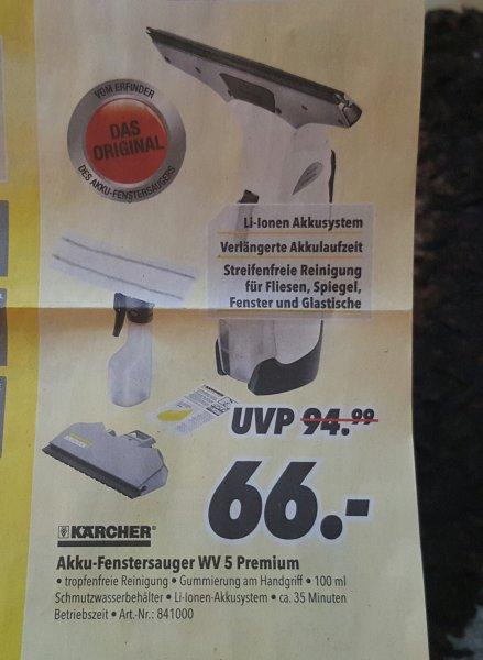 Kärcher WV 5 Premium für 66 Euro @Medimax