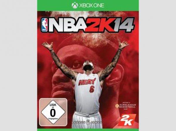 [Saturn.de] NBA 2K14 (XBoxOne) für 5,-€ Versandkostenfrei