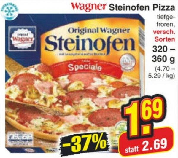 [Netto MD] Wagner Steinofen-Pizza versch. Sorten für 1,69 €