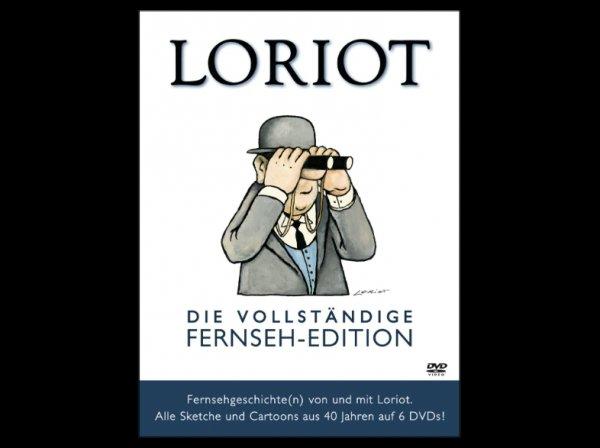 """[Saturn] Loriot: """"Die vollständige Fernseh-Edition"""" auf 6 DVDs - 760 Minuten Loriot - für 21,99€"""