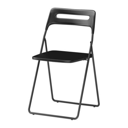 [lokal IKEA Berlin] 2 Nisse Klappstühle in schwarz zum Preis von Einem mit Onlinecoupon