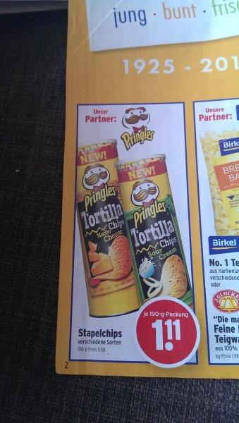 Pringles verschiedene Sorten für 1,11€ BEI Wasgau