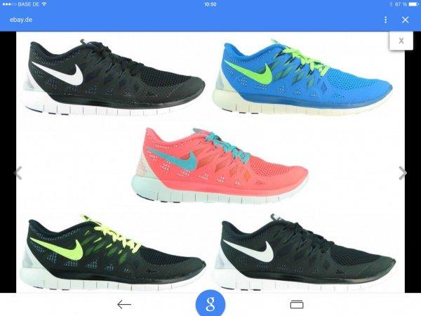 (EBAY WOW)Nike free 5.0 in verschiedenen Farben und Größen bei ebay wow für 79 Euro inkl. Versand