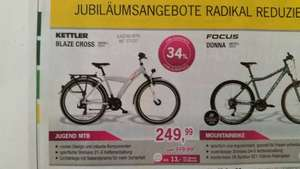 Jugend MTB Kettler Blaze Cross 26er, in den Filialen Lucky Bike 249 Euro / Idealo 349