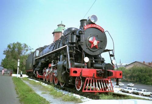 Monatskarte für die Transsibierische Eisenbahn (ganze Strecke hin und zurück!) für EUR 134,40