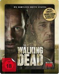 The Walking Dead - Staffel 3 (Exkl. Steelbook Uncut mit magnetischer 3D Lentikularkarte) - (Blu-ray) inkl. Vsk für 19,99 € > [saturn.de]