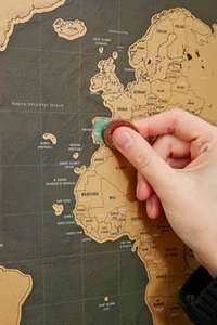 Luckies Scratch-Worldmap Delux Edition 14 € @Amazon-Prime