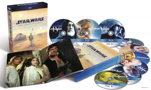 (Müller) Star Wars – The Complete Saga I-VI [Blu-ray] für € 58,50