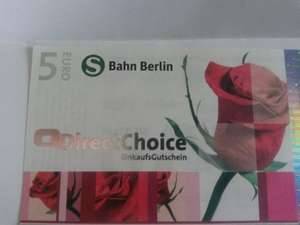 [Lokal Berlin] 5€ DirectChoice Gutschein for free