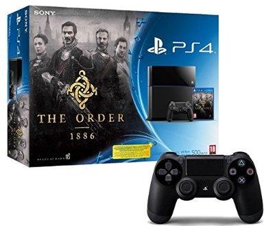 [Amazon.fr] PS4 + The Order: 1886 + 2. Dual-Shock-Controller für 404€