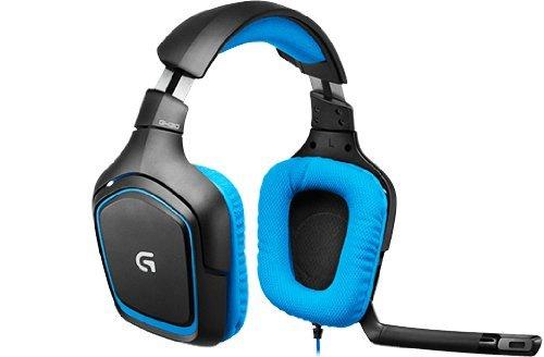 Logitech G430 Gaming Headset für PC und PS4 blau