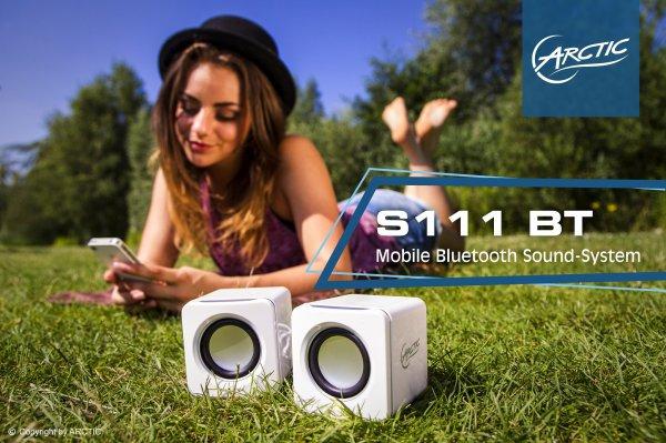 Lautsprecher mit Bluetooth für 11,11 €, mit  Audiokabel für 7,77 € (zzgl. Versand)