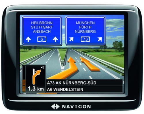 Navigon 20 EASY Navigationssystem