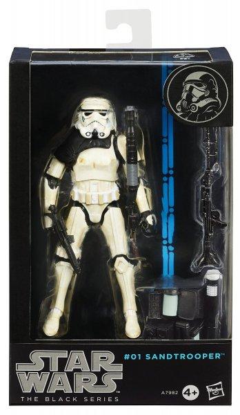 Star Wars Sandtrooper Black Series Action Figur von Hasbro ca 23€ @amazon.uk