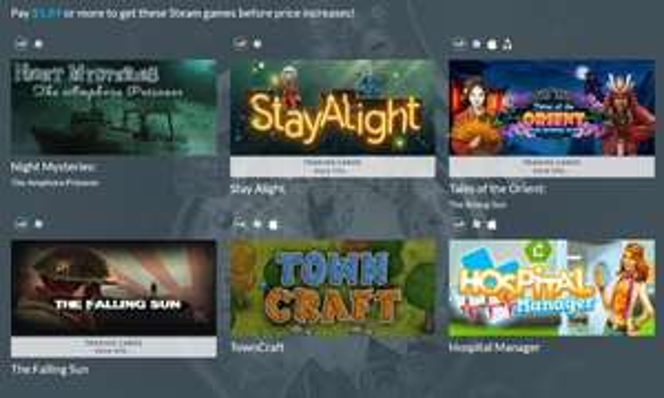 [steam] indiegala monday bundle 6 games für 1.89$