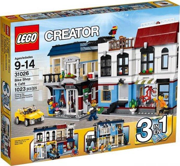 [SpieleMax] - Lego Creator Fahrradladen & Café (31026)