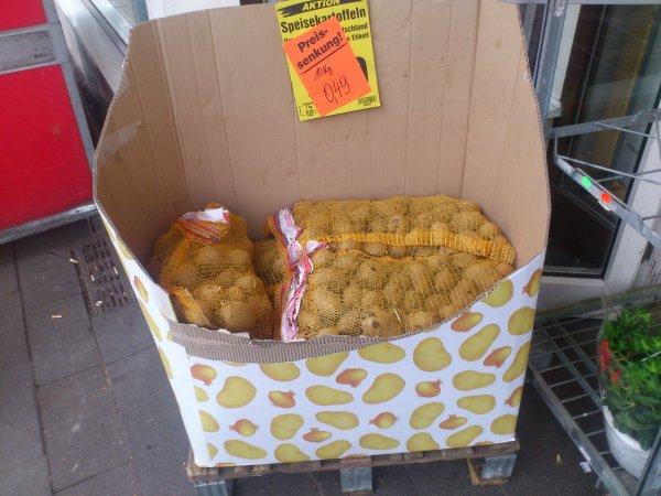 [Lokal Netto Köln-Lindenthal] 10kg Kartoffeln für 0,49€