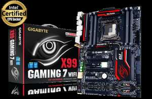 Highend Mainboard Sockel 2011-3 GA-X99-Gaming 7 WIFI @ZackZack