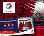 """Komplettwäsche für Dein Auto inkl. Lotuspolitur - Waschprogramm """"Unsere Beste"""" bei TOTAL für 7,50 Euro statt 13,50 Euro"""