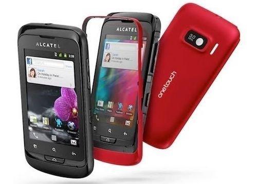 Alcatel One Touch 918D Mix, Dual Sim mit GPS, Schwarz+Rot (Ohne Simlock) - OVP, Neu, WOW