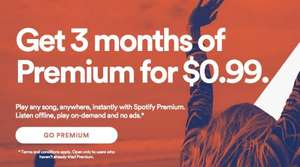 3 Monate Spotify Premium für 0,89 € (Spotify US-Aktion)