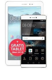 Huawei P8 + Huawei Mediapad T1 (incl. LTE)  für 481 Euro