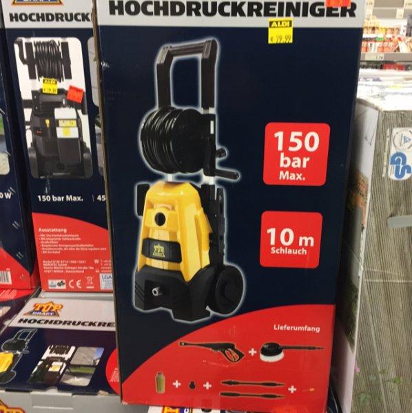ALDI Nord Lokal Berlin Schlachtensee Hochdruckreiniger 35€ Restposten