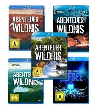 Sparpaket: 5 Blu-rays von National Geographic für 19,99 inkl. VSK @terrashop