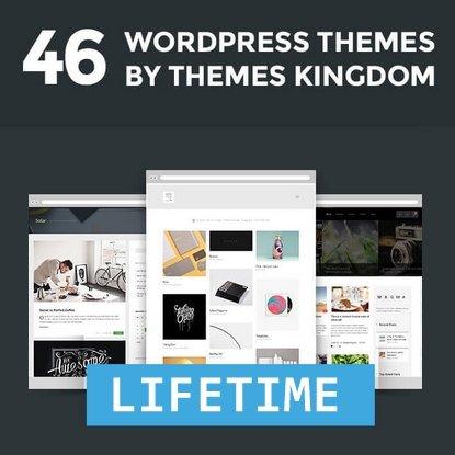 [46+ Wordpress Themes] Themes Kingdom Lifetime Access - 40 Euro - bei Mighty Deal