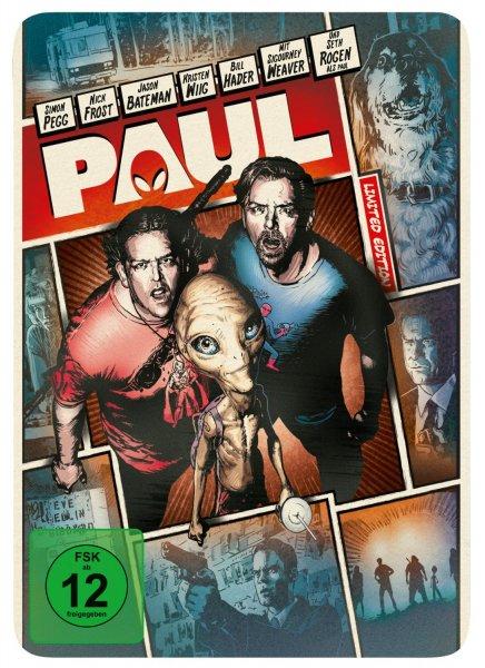 Paul - Ein Alien auf der Flucht (Steelbook) [Limited Edition] [Blu-ray] für 6,97€ @Amazon.de (Prime) oder Media Markt