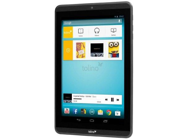 "eBay: Tolino Tab 8,9"" 22,6 Zentimeter, Full-HD Tablet Schwarz @ 89,90 Euro (wie NEU)"