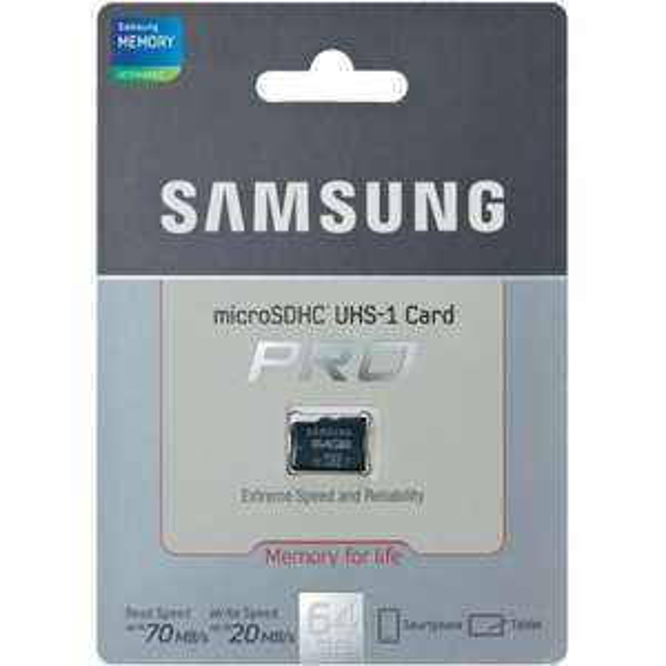 [lokal Berlin] Samsung microSDXC UHS-I Pro 64gb 19,99€