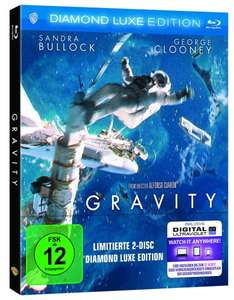 Gravity - Diamond Luxe Edition [Blu-ray] [Limited Edition] für 9,97€ bei Amazon (Prime)