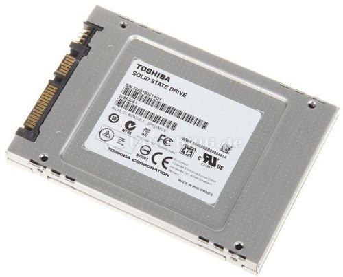 [ebay] SSD-Festplatte: Toshiba HG5d 256GB, 7mm, SATA 6Gb/s für 84,89€
