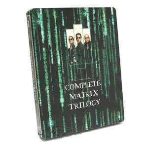 Matrix Trilogy Steelbook [Blu-ray] @Amazon Prime