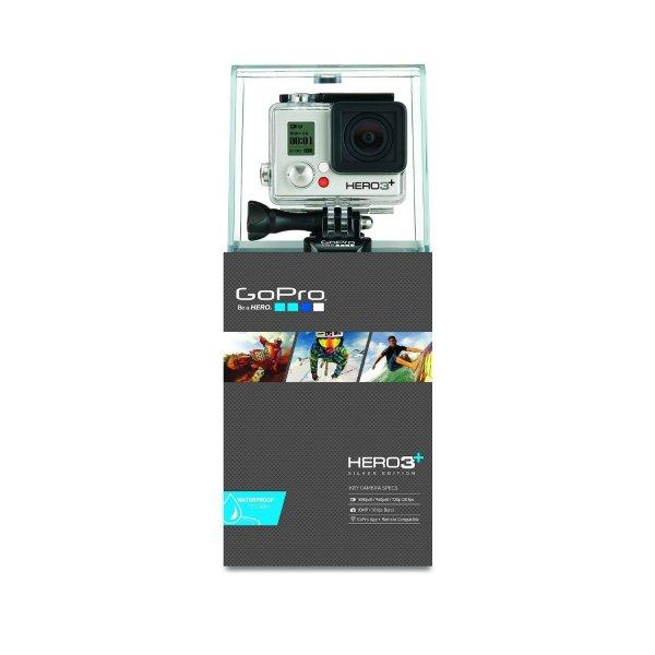 GoPro Hero 3+ Silver Edition für 269€ (Vergleichspreis: 299€)  Hero 3 White 185,99