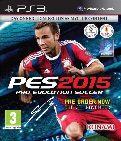 Pro Evolution Soccer 2015 (PES 2015) (PS3) für 18,00€ / inkl. Vers. : 22,49 !!!
