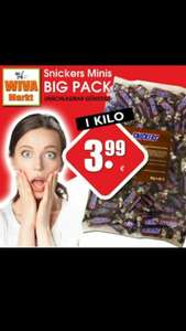 Snickers Minis 1Kg 3.99