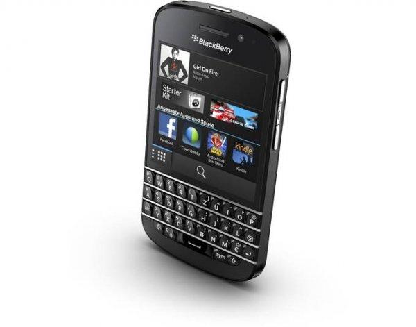 Blackberry Q10, Vorführgeräte / Kundenretouren für 99 Euro