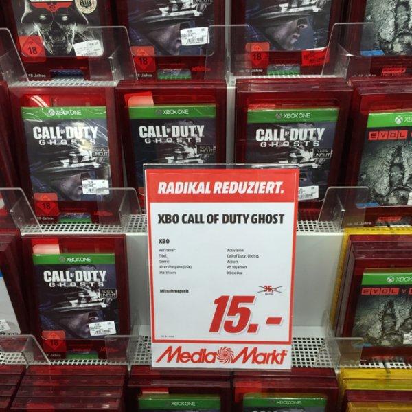 Call of Duty Ghost für XBox oben