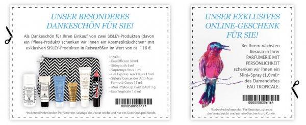 Parfümerien mit Persönlichkeit: Damenduft Eau Tropicale Mini-Spray (1,6 ml) gratis