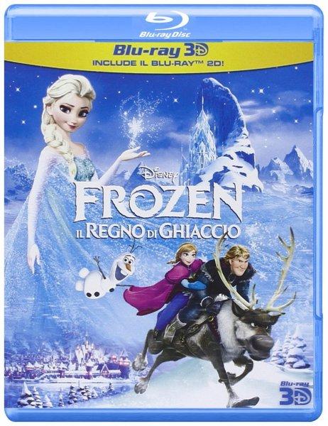 [Blu-ray 3D] Die Eiskönigin (mit dt. Ton) @ Amazon.it