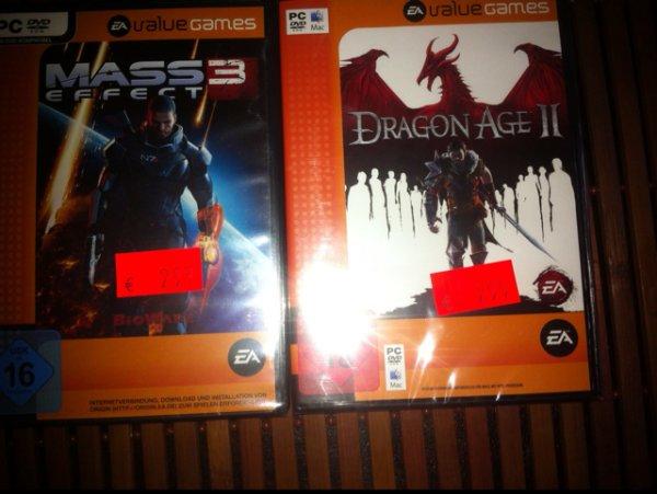 [Real] Mass Effect 3 | Dragon Age II je 2,99€ (lokal?)