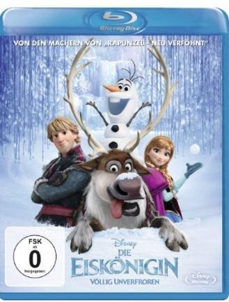 Frozen - die Eiskönigin völlig unverfroren Blu Ray