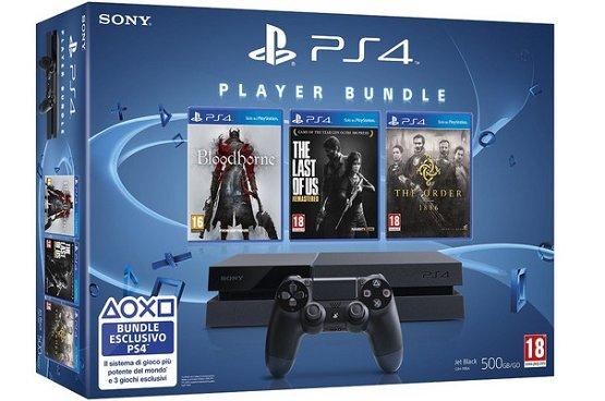 Sony Playstation 4 player bundle in mediamarkt.nl