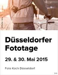 [Lokal Düsseldorf] Fototage bei Foto Koch 29. + 30. Mai 2015 mit CLEAN & CHECK
