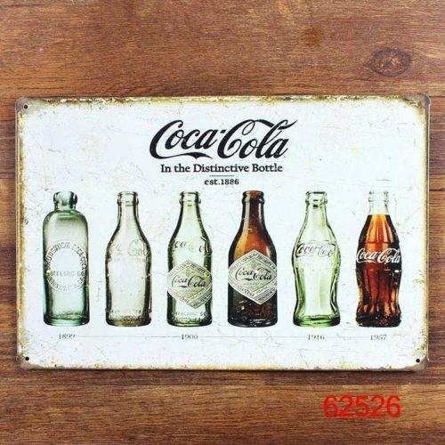 Blechschilder, 19 verschiedene Motive (Jack Daniel`s, Coke, etc.) ab 3,57 Euro, inkl. Versand, @Ebay