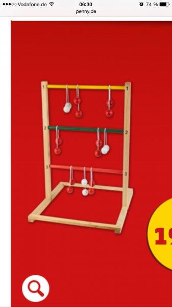 [Penny] Holz Leitergolf 19,99€